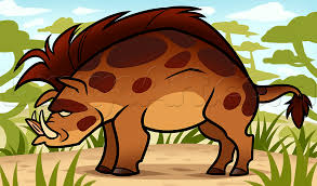 how to draw a hog step by step great plain animals animals