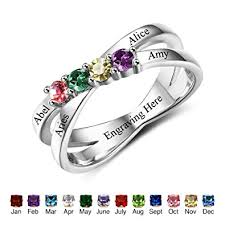 mothers ring with names design your own mothers rings with children simulated