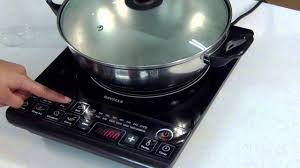 Portable Induction Cooktop Reviews 2013 Havells Induction Cooktop Demonstration Youtube
