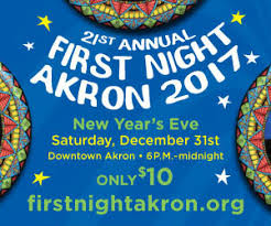 new years party akron ohio akron 21st annual new year s celebration