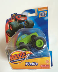 Fisher Price Toy Box Blaze And The Monster Machines Pickle Die Cast Car New In Box