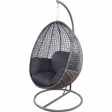 Patio Egg Chair Nouveau Contempo Hanging Egg Chair Charcoal Mitre 10 Perfect