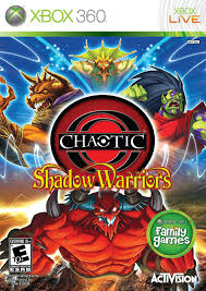 chaotic shadow warriors xbox 360 classic game room wiki