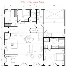 great plains gambrel barn home main floor plan architecture