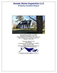 sample house inspection report sample inspection report u2013 assets home inspection llc