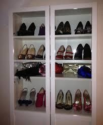 billy bookcase shoe storage louboulush s beauty blog shoes storage ikea billy bookcase olsbo
