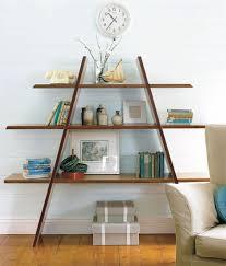 Decorative Bookshelves by Diagonal Shelf Creates A Great Geometric Shape To You Space Easy