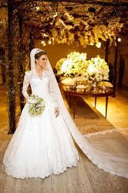 formal wedding dresses vintage white sleeve lace wedding dress a line vestidos de