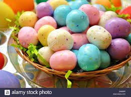 malted easter eggs malted candy easter eggs stock photo royalty free image 55172539