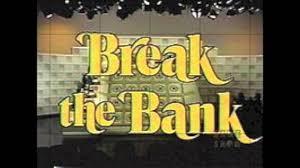 retro tv bank 1976 break the bank opening theme edited youtube