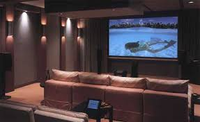 Gorgeous Interior Decorating Ideas For Your Home Theater Or - Home theater interior design ideas