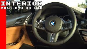 new 2018 bmw x3 m40 interior youtube
