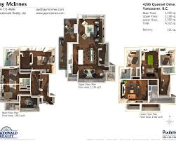 Floor Plan For Mansion Modern House 3d Floor Plans Modern Mansion Floor Plan 3d
