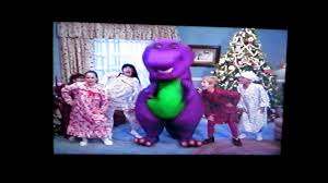 barney waiting for santa the complete show 1990 original vhs