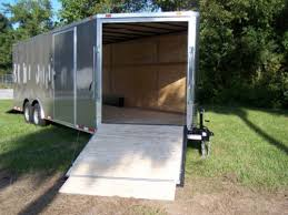 V Nose Enclosed Trailer Cabinets by 5 U0027 Ramp In V Nose Or Side Of Trailer Diamond Cargo Outlet