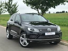 volkswagen r line used 2016 volkswagen touareg 3 0 v6 262ps r line plus bluemotion