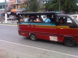 philippines jeepney for sale paratransit in davao city caught up in traffic