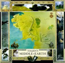 Map Middle Earth Www Tolkien Maps Com