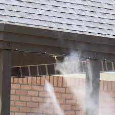 Patio Misting System Diy by Mist Works Gulf Breeze High Pressure Residential Misting System