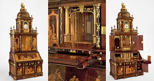 the craftsmanship in this 200 year old desk will blow your mind
