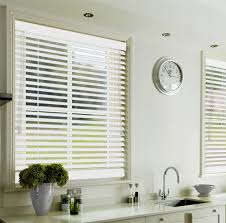 supreme white wooden venetian blind discount wood blinds blinds4uk