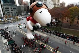 snoopy downgraded in this year s macy s thanksgiving day parade