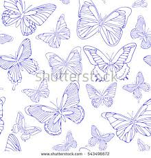 butterfly outline stock images royalty free images vectors