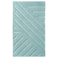 Can You Put Bathroom Rugs In The Dryer Pebbles Bath Mat Clear 20x34 Nate Berkus Target