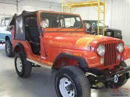 1982 jeep jamboree jeep cj 5 renegade original paint and body with sbc v8