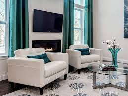 awesome turquoise living room curtains decorating with turquoise