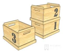 Diy Large Wooden Toy Box by Stackable Wood Storage Bin Stackable Wooden Toy Storage Bins Like