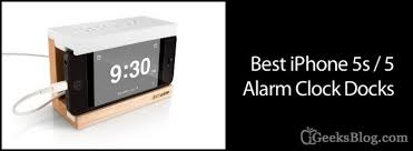 nightstand best iphone 5 5s alarm clock docks to wake you up in