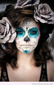 sugar skull make up for