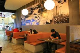 Fast Casual Restaurant Interior Design Red Table Korean Fast Casual Restaurant Interior Restaurant