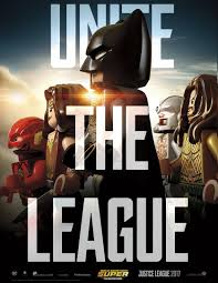 justice league justice league u0027s unite the league poster is even better in lego form