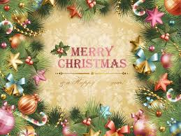 christmas tree vector card christmas vector graphics art free