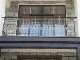 top selling galvanized wrought iron balcony fence view