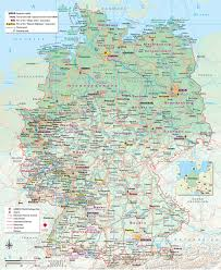 Maps Of Germany by Brochures And Maps Finnlines