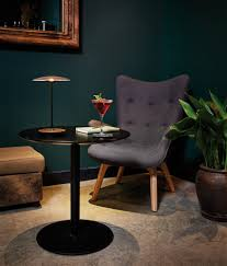marset u0027s ginger lamp can be carried from room to room