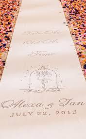 wedding runner ceremony decor custom aisle runners disney weddings