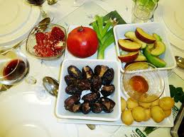 rosh hashanah seder plate new year meaning and customs