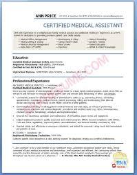 Medical Billing Resume Sample by Assistant Medical Assistant Resume Sample