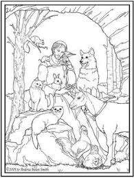 st francis assisi catholic coloring printable