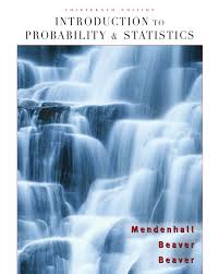 mendenhall introduction to probability and statistics 13th txtbk