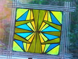 how to make mosaic stained glass art hgtv