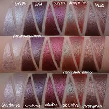 natasha denona u0027lila u0027 palette complete dupes