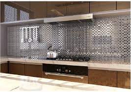 mirror kitchen backsplash fresh best mirror tile backsplash kitchen 11617