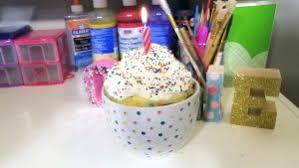 giant diy birthday cake mug cake recipe diywithollie com