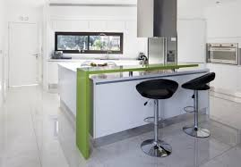small kitchen design gray shelves white stained wall wooden