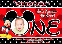mickey mouse clubhouse 1st birthday invitations free printable